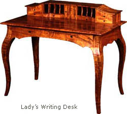 ady's writing desk